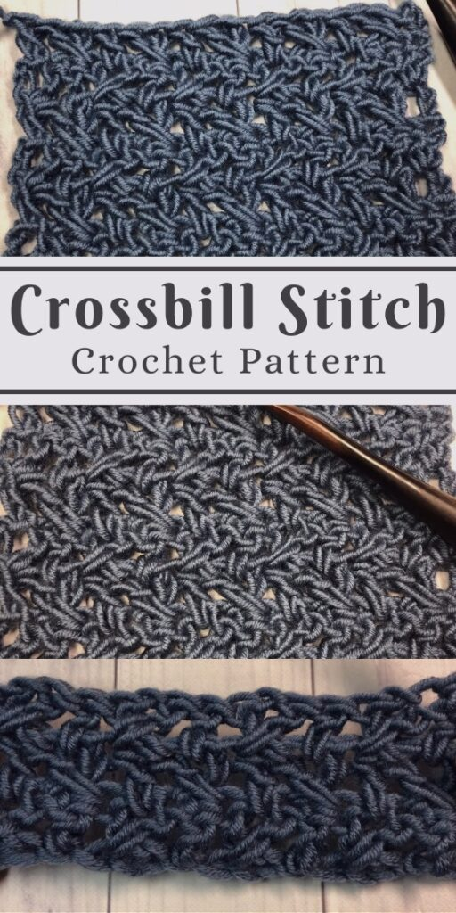 Crochet Crossbill Stitch Tutorial