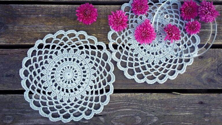 Crochet Doily - Tutorial For Beginners