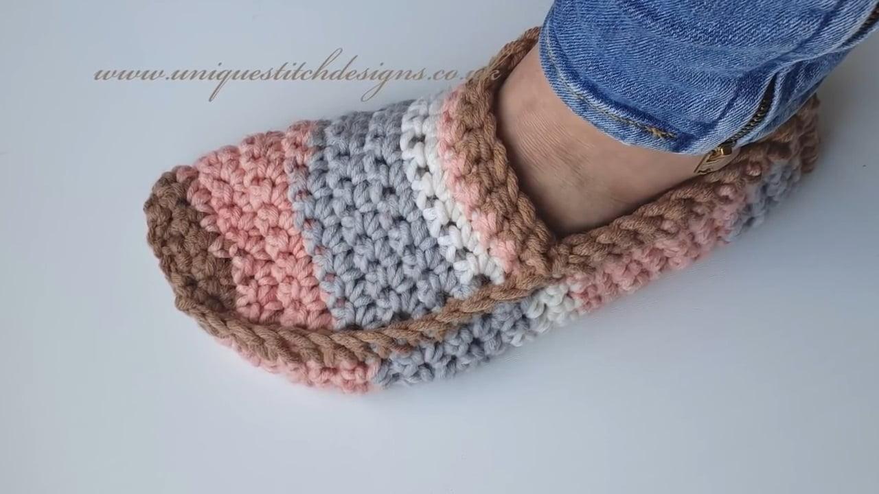 Crochet Unisex Slipper Socks