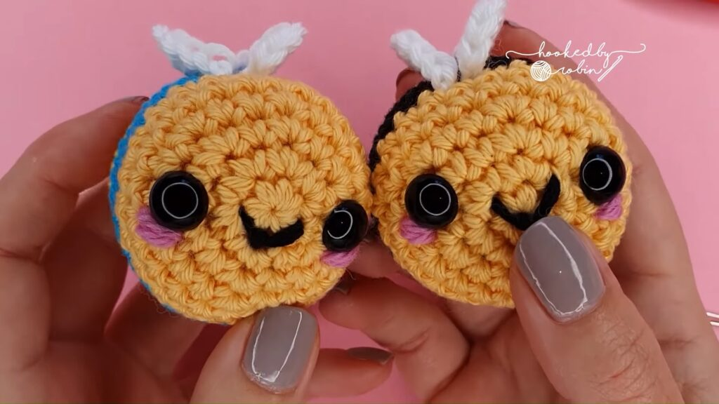 crochet amigurumi bee pattern