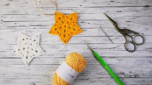 Crochet Christmas Star Crochet pattern