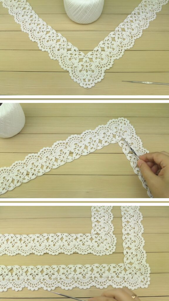 Crochet Border for Doily Tablecloth
