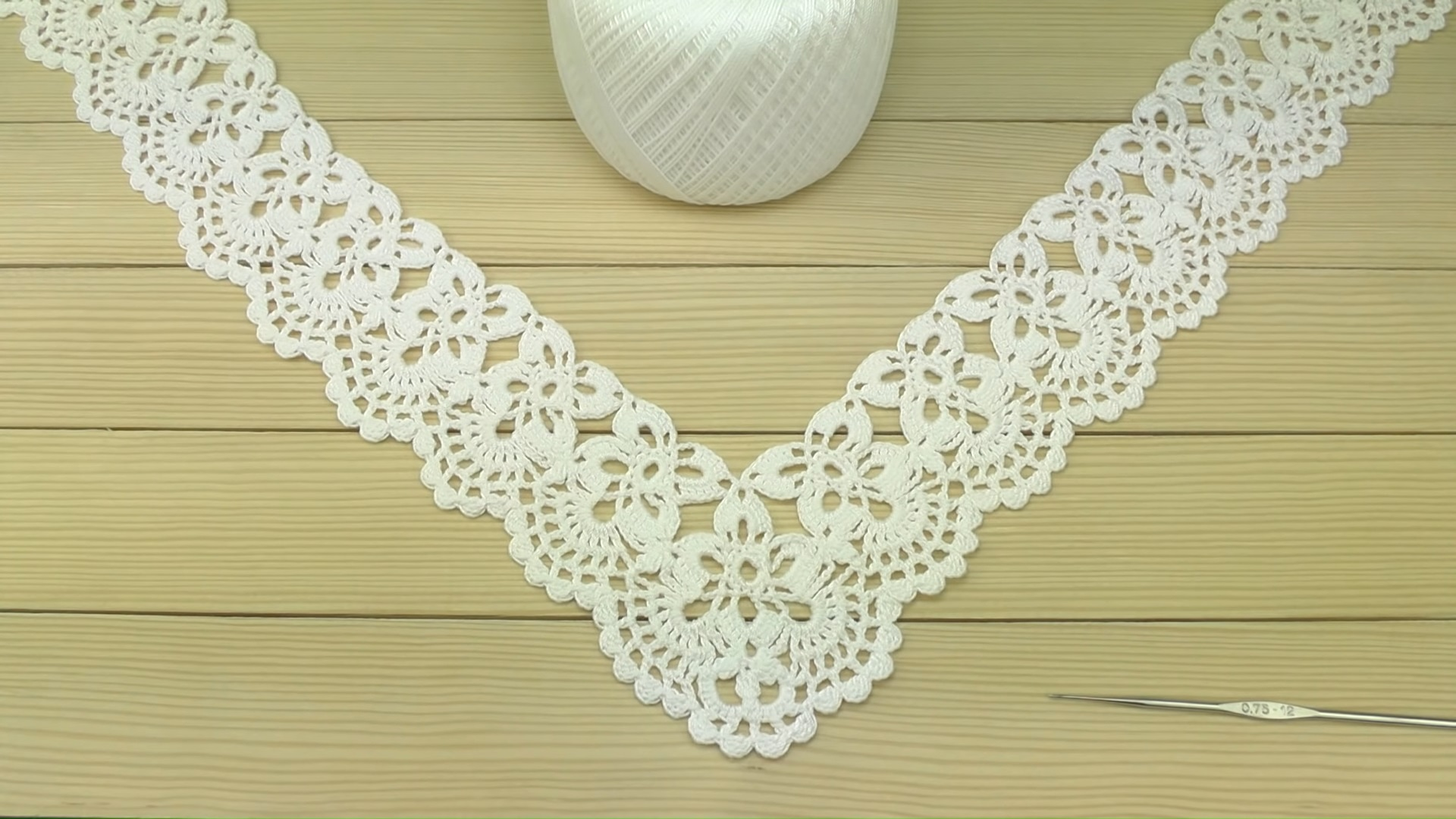 Crochet Border for Doily Tablecloth pattern
