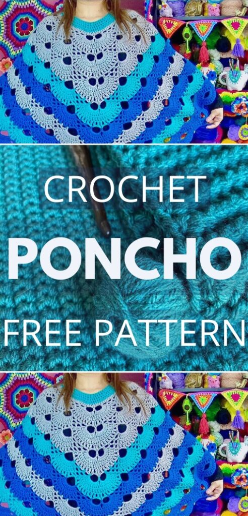 Crochet Poncho Free Pattern For Beginners