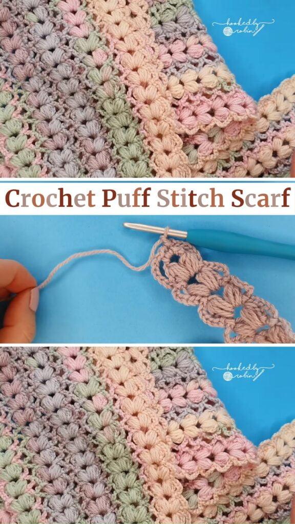 Easy To Crochet Scarf Pattern