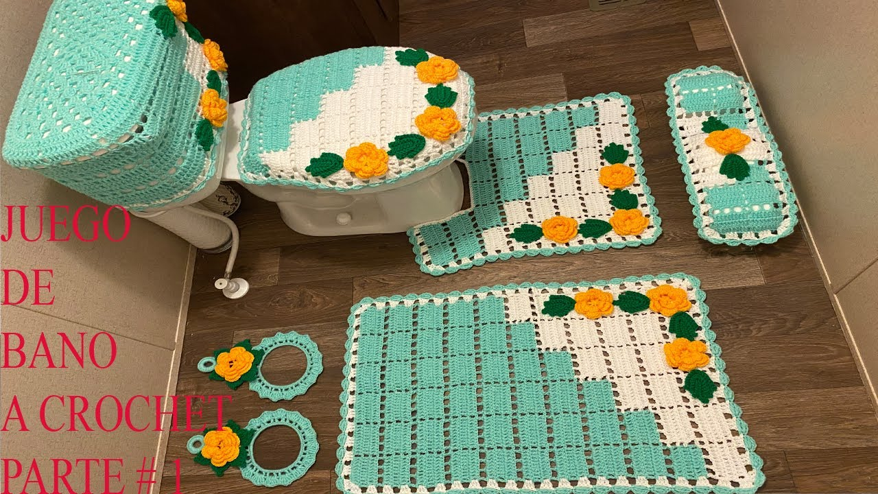 Crochet Bathroom Decoration Idea