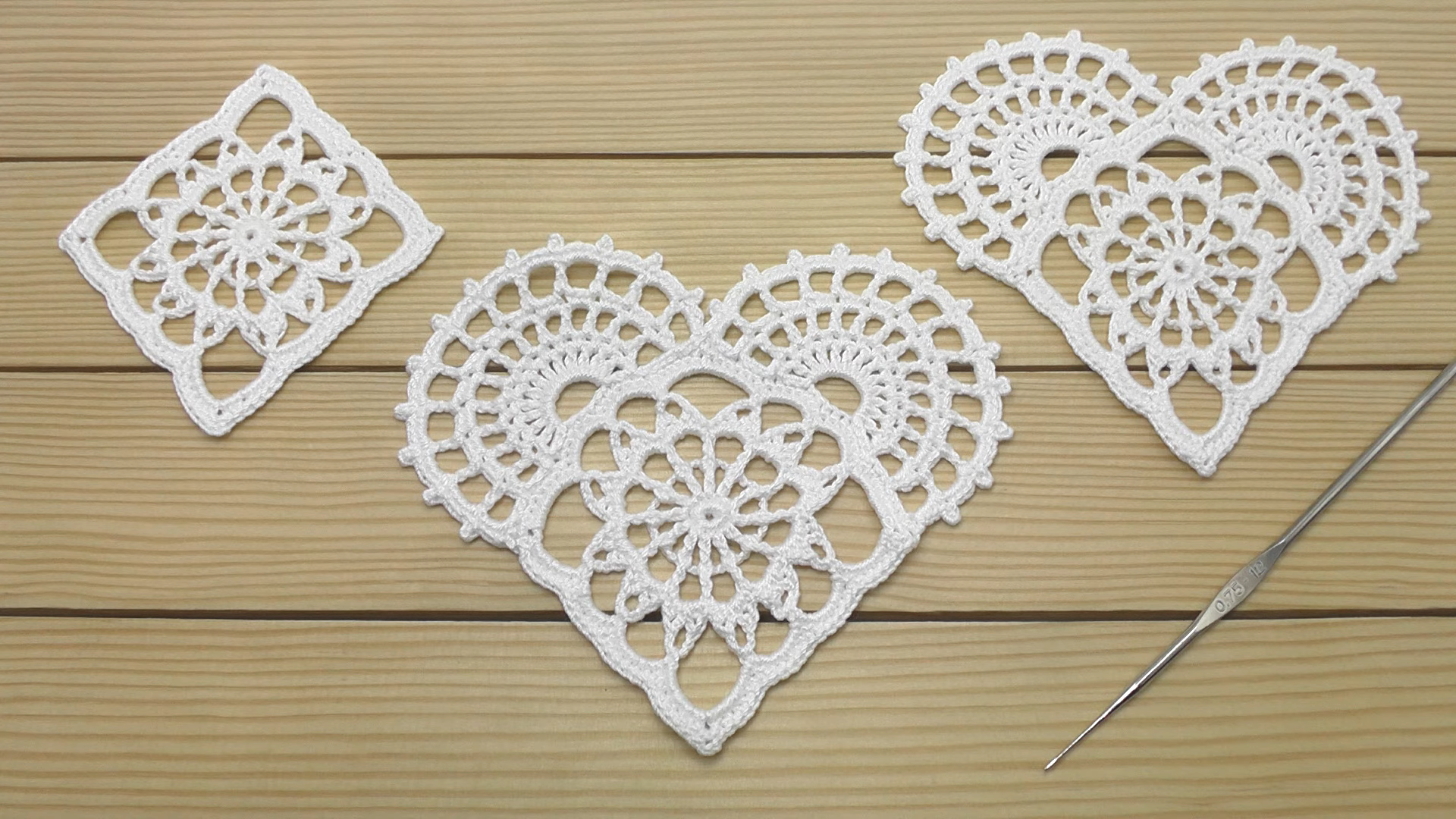 Crochet Easy Flower Motif