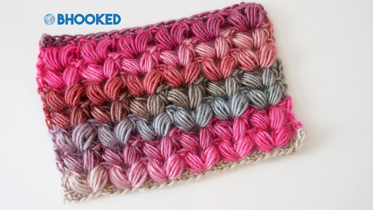 Crochet V Puff Stitch Tutorial