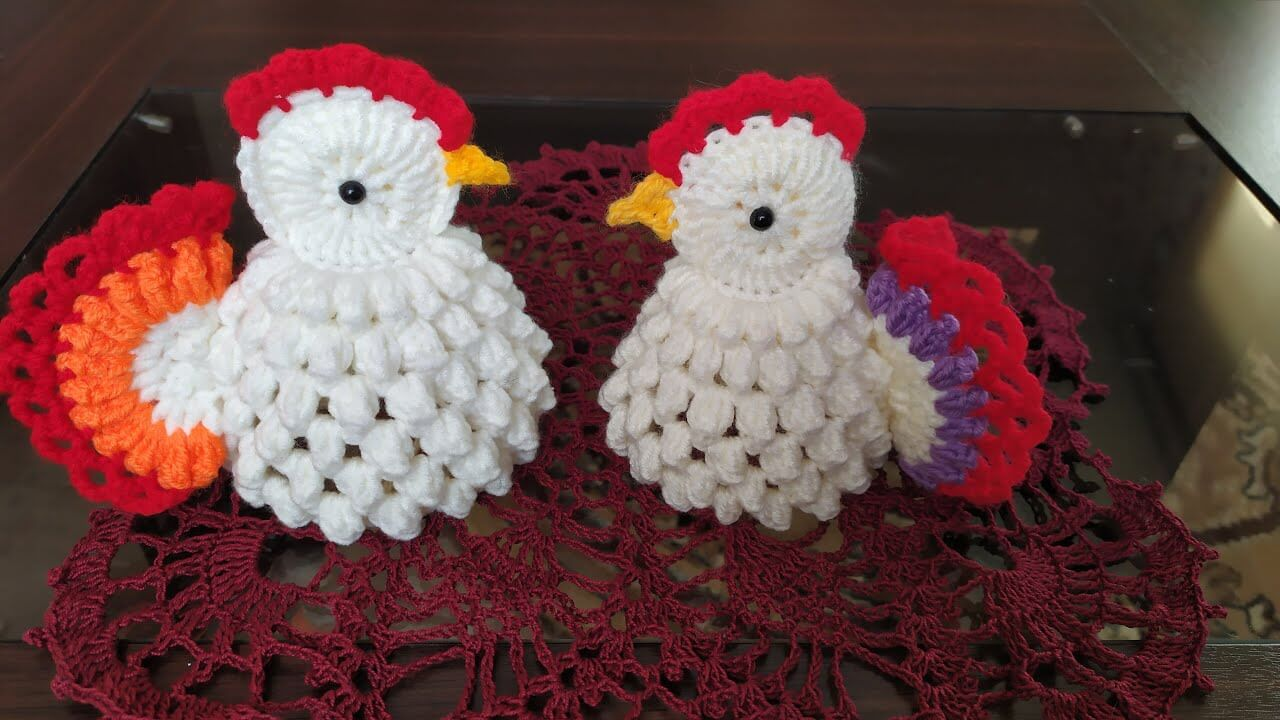How To Crochet Amigurumi Chicken