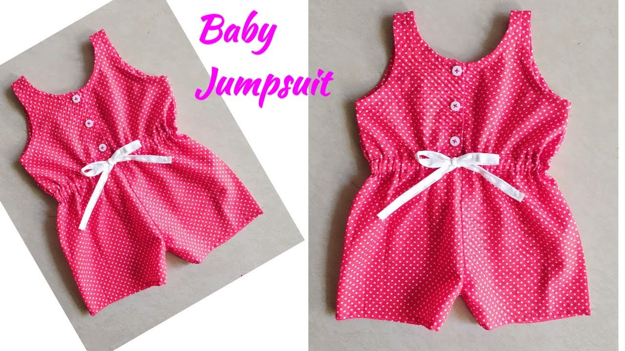 How To Make Baby Jumpsuit