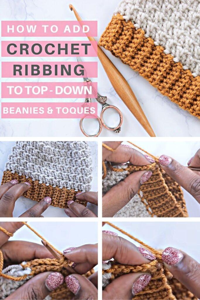 Crochet Ribbing Tutorial - Baby Beanie