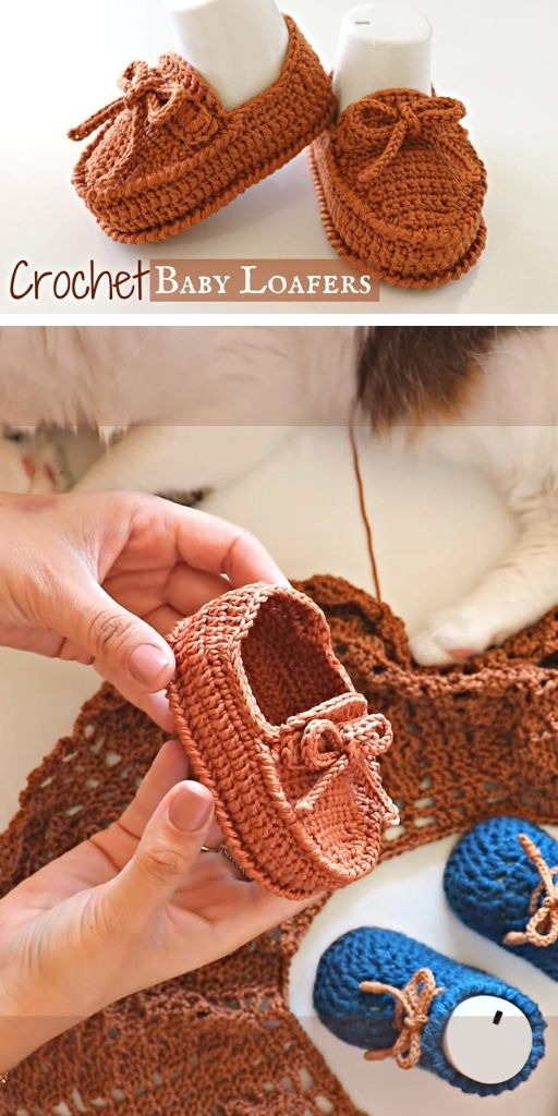 DIY How To Crochet Baby Shoes