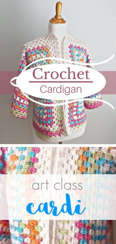 Super Easy Crochet Cardigan Tutorial