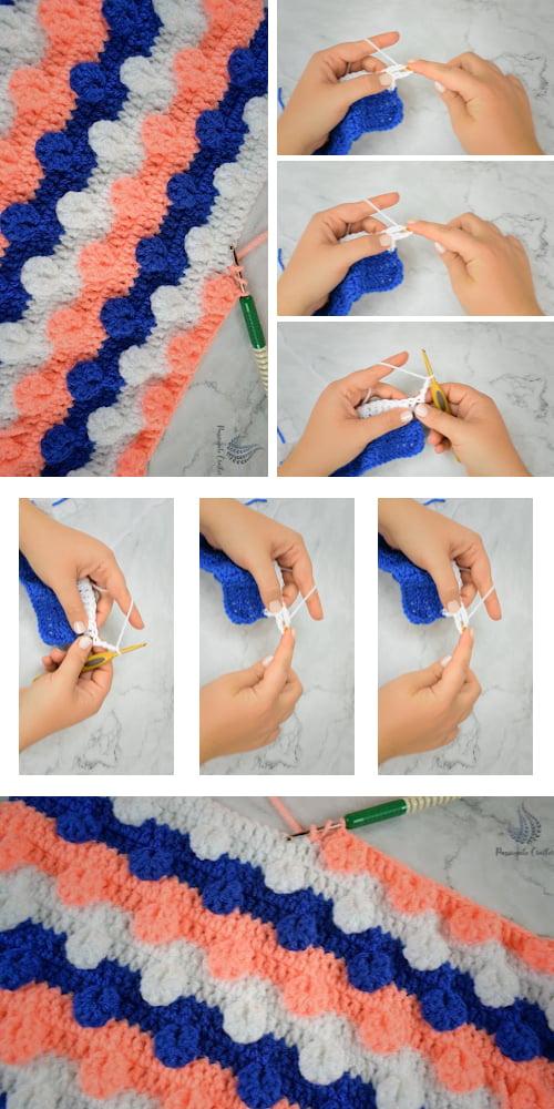 Easy Crochet Baby Blanket Tutorial