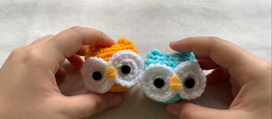Baby owl crochet doll for beginners_My first amigurumi_My first crochet doll_Baby owl crochet doll 31-34 screenshot