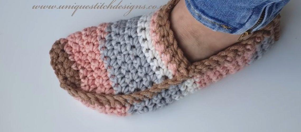 Crochet Unisex Slippers